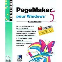PAGEMAKER 5 POUR WINDOWS. Disquette
