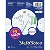 Pacon PAC3230BN Math Notes, White, 150 Count, 8.5 X 11, MultiPk 12 Packs/CT