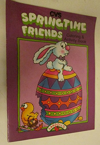 - CVS Springtime Friends Coloring & Activity Book (Paperback) 1994
