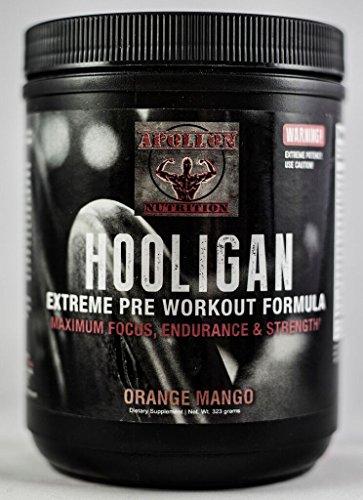 Apollon Nutrition Hooligan Pre Workout (Orange Mango)