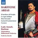 Baritone Arias: Il barbiere di Siviglia; I vespri siciliani; Don Giovanni; Lucia di Lammermoor; Carmen