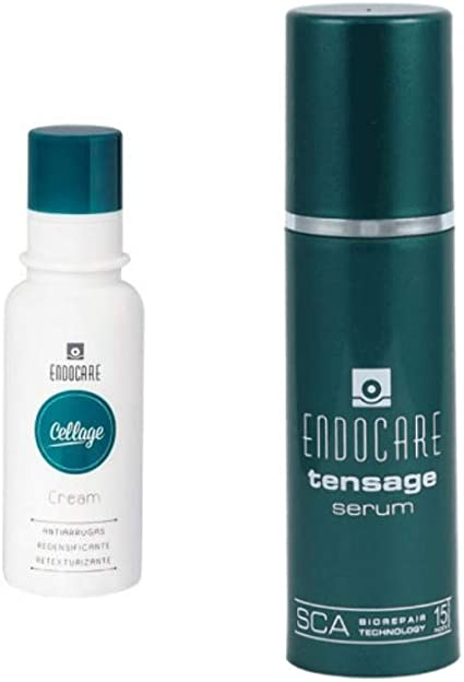 Pack Endocare Cellage Cream 50ml + Serum Tensage 15 ml: Amazon.es: Belleza