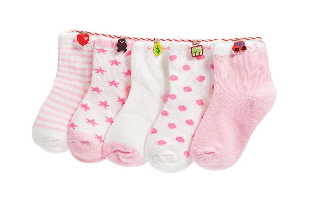 DEBAIJIA Niños Niñas Calcetines De Algodón Cómodo Suave Jogging Absorben el Sudor Antibacteriano primavera verano otoño