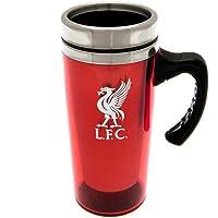 Liverpool FC Official Football Crest Aluminium Travel Mug