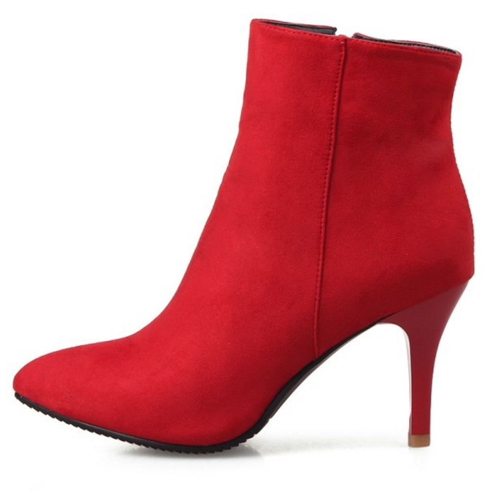Amazon.com | KemeKiss Womens Fashion Stiletto High Heel Ankle Boots | Ankle & Bootie