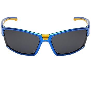 HETAO personnalité HD Lunettes de soleil , blue Verres décoratifs