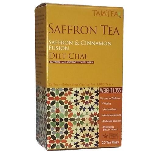 Saffron Cinnamon Diet Chai Tea