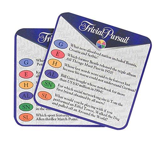 Paladone Trivial Pursuit Trivial Coaster Set