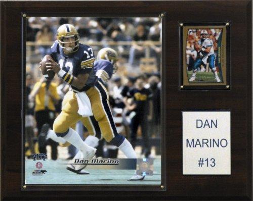 NCAA Football Dan Marino Pittsburgh Panthers Player Plaque Dan Marino Photograph