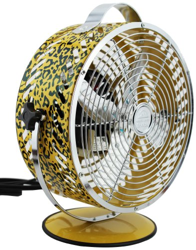 WBM HBM-7015A2 Himalayan Breeze Decor Leopard Fan