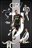 CR7 Cristiano Ronaldo Juventus FC Sports Soccer Poster 24in x 36in