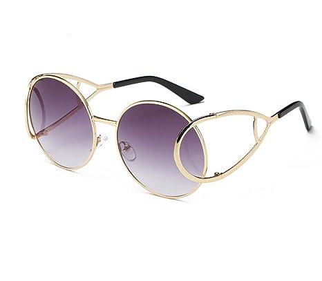 aismkj moda gafas la Sra tendencia Gafas de sol colorido de ...