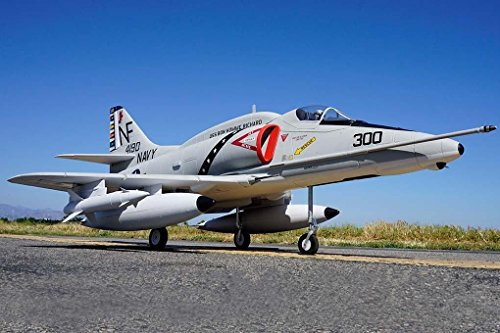 A-4 Skyhawk Jet 80mm Ducted Fan EDF Fighter RC Airplane 6S Durable EPO PNP (No Radio, battery, charger)