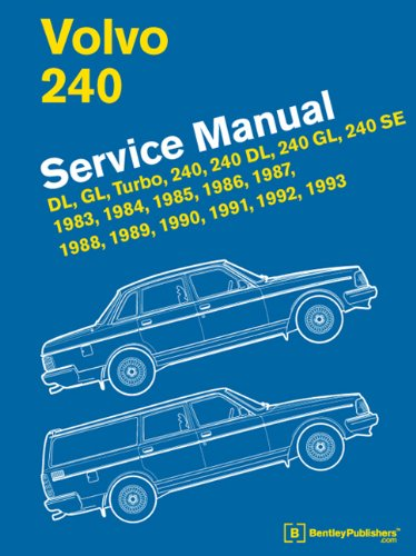 volvo 240 service manual 1983 1984 1985 1986 1987 1988 1989 rh amazon com Volvo 760 GLE 1976 Volvo 240