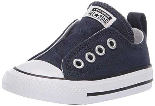 33002742bc2632 Converse Kids Unisex Chuck Taylor All Star Core Slip (Infant Toddler)  Athletic Navy