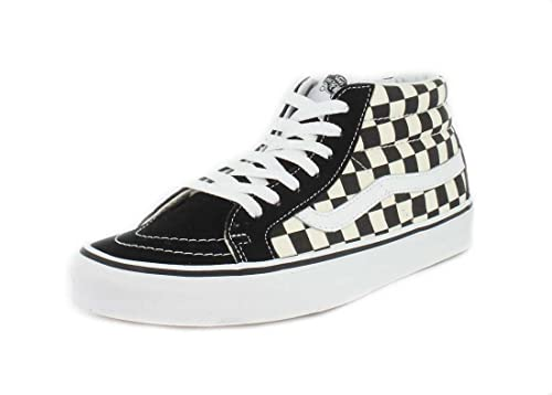 8c500deb91 Vans Sk8-Mid Reissue Checkerboard True White VN0A391FQXH Mens Size ...