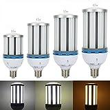 LVJING 65W Led Corn Light Bulb, E40 Base, 162pcs 5730 SMD Chip, Day White Light, 6000~6500K, 6500lm, 360 degree lighting, AC 85~265V, 650 Watt Incandescent Bulb/ 195W CFL Equivalent