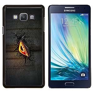 EJOOY---Cubierta de la caja de protección para la piel dura ** Samsung Galaxy A7 A7000 ** --Mal Glow Ojo