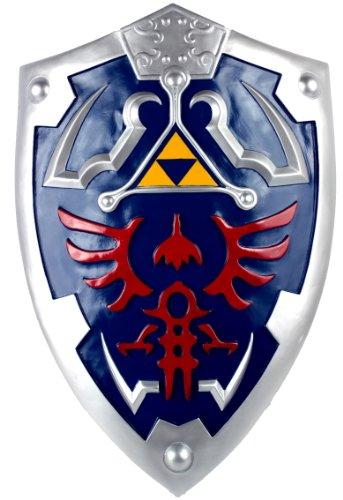 Zelda Full Size Link Hylian Shield with Grip & -