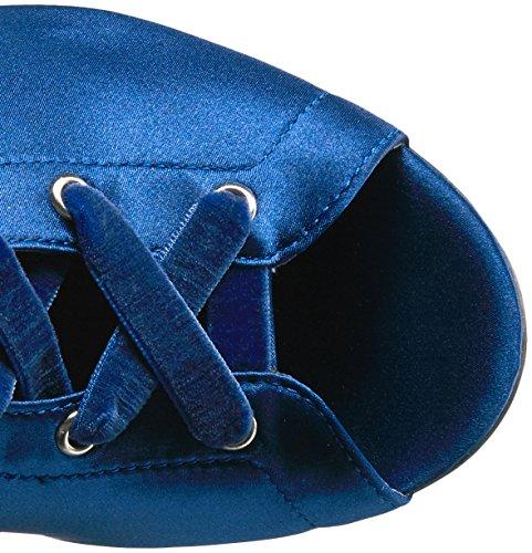Calene Women's Knee Blue Boot Guess Over Satin The d5SzdxI