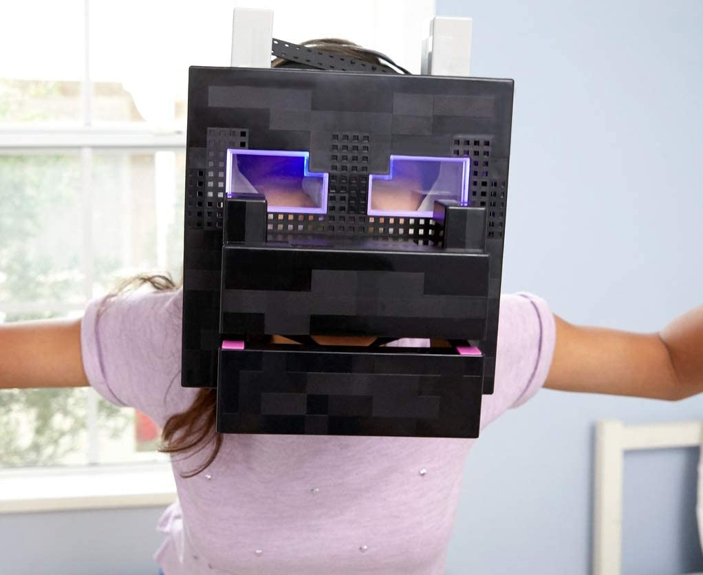 Mattel FLC89 Minecraft Ender Dragon Interactive Mob Head