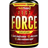 TEST FORCE Testosterone Booster Supplement For Men & Women | Naturally Assists With Muscle Growth, Fat Burner, libido Booster, Strength, Energy | Horny Goat Weed, Tribulus Terrestris, Saw Palmetto USA