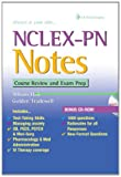 NCLEX-PN Notes : Course Review and Exam Prep, Hale, Allison and Tradewell, Golden, 080362123X