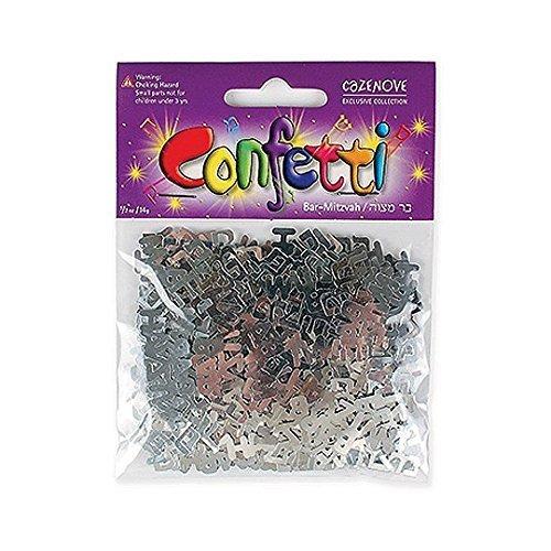 Bar-mitzvah Confetti (Silver)
