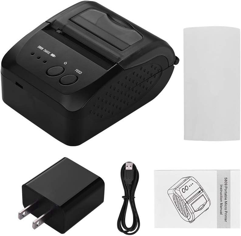 Amazon.com: Aibecy 5809DD Portable Mini Direct Thermal ...