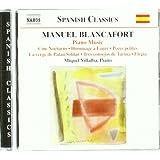 Manuel Blancafort : intégrale pour piano, volume 5