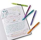 Paper Mate InkJoy Gel Pens, Medium Point, Black, 4