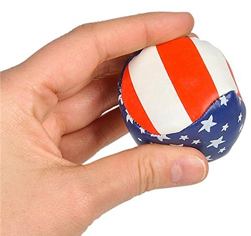 2'' STARS AND STRIPES FOOTBAG, Case of 288 by DollarItemDirect (Image #3)