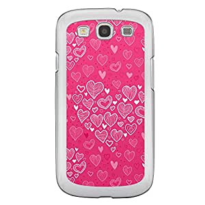 Loud Universe Samsung Galaxy S3 Love Valentine Printing Files A Valentine 169 Printed Transparent Edge Case - Pink