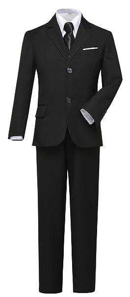 Amazon.com: Visaccy Traje de vestir para niños, ajustado ...