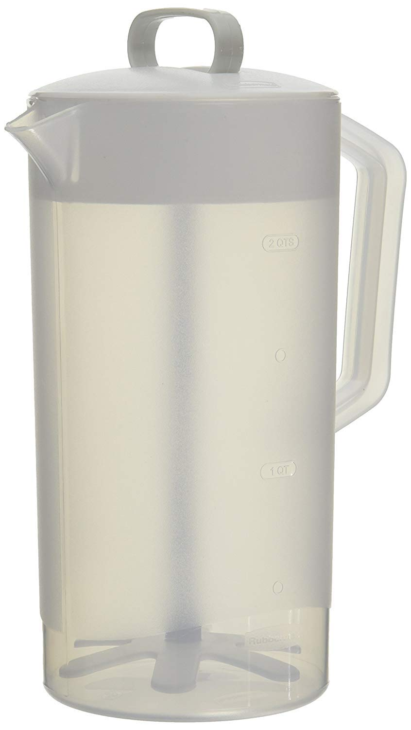 "Rubbermaid - Servin Saver White Mixing Pitcher 2 Qt, Plastic [4 3/4"" Dia] (Single Unit, White Color)"