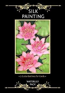 Silkcraft silk painting gutta outlines card making pack of 20 silkcraft silk painting gutta outlines card making pack of 5 waterlily pack mightylinksfo