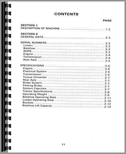 - Massey Ferguson 60 Tractor Loader Backhoe Operators Manual