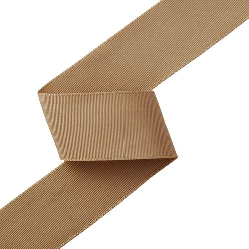- Grosgrain Ribbon 1-1/2 Inch TAUPE by 50 Yards