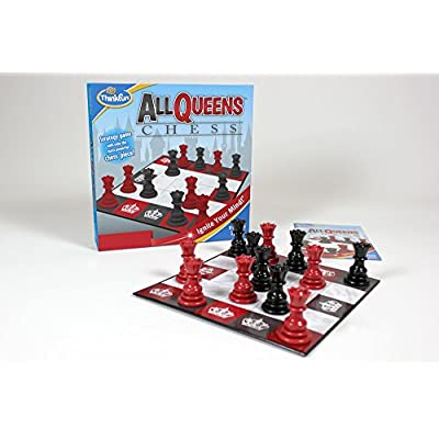Think Fun All Queens Chess: Toys & Games