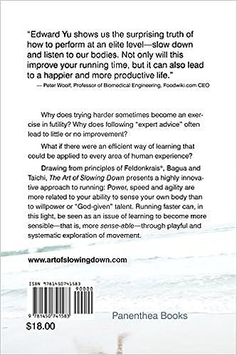 The Art of Slowing Down: Edward Yu: 9781450741583: Amazon.com: Books