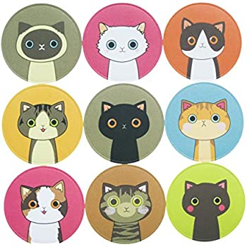 90 lovely kitty cat stickers for school office party home holiday decoration