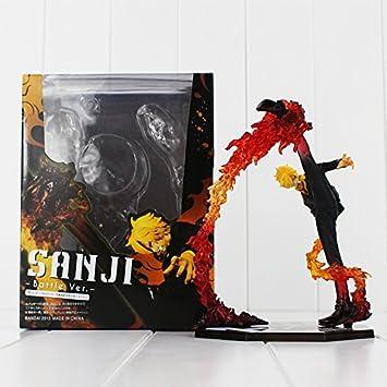 Black Leg Sanji Battle Version ONE PIECE Action Figur 17 cm.