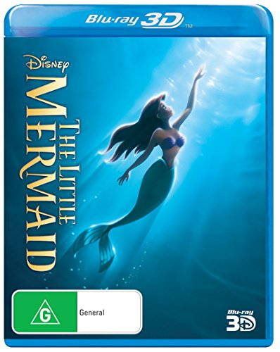 The Little Mermaid [Blu-ray 3D] (The 3 Mermaid Little)