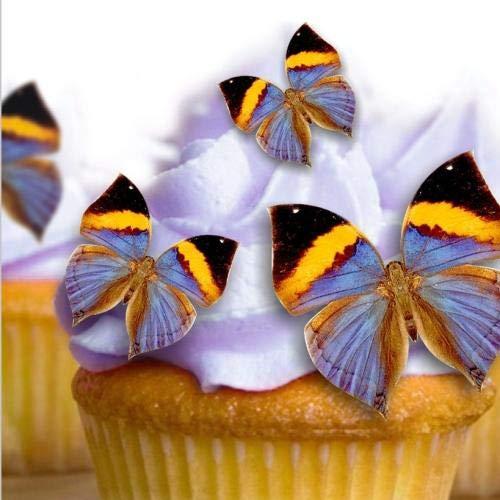 Pre Cut 57 cumpleaños boda Cupcake, para tartas de oblea ...