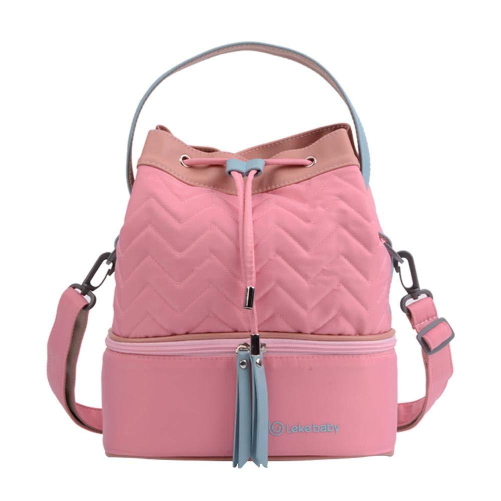 Heilsa Breast Milk Baby Bottle Cooler Bag Portable Mini Ice Milk Drinking Baby Bottle Cooler Travel Bag