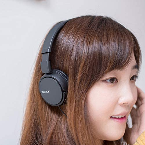 Sony MDRZX110/BLK ZX Series Stereo Headphones (Black) 51QYk2qWkuL