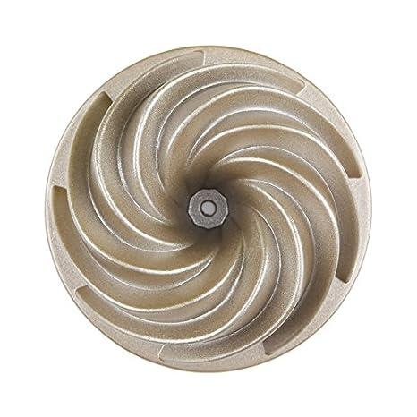 whh/molde para hornear/4-inch (5,25 pulgadas)/Tornado Forma/para tartas de aluminio fundido/molde/bandeja para horno/horno/para hogar/doble cara ...