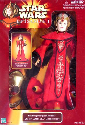 Star Wars Episode I Royal Elegance Queen Amidala Collection Fashion Doll (Star Wars Queen Amidala Costume)