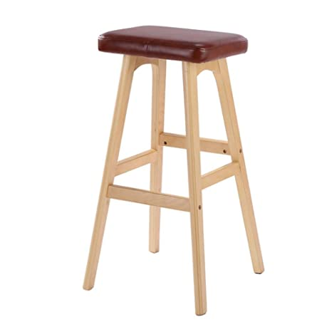 Terrific Amazon Com Footstool Solid Wood Bar Stool Creative Bar Dailytribune Chair Design For Home Dailytribuneorg