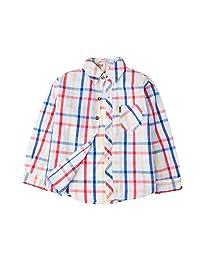 Evelin LEE Baby Boys' Long Sleeve Plaid Woven Shirt Clothes